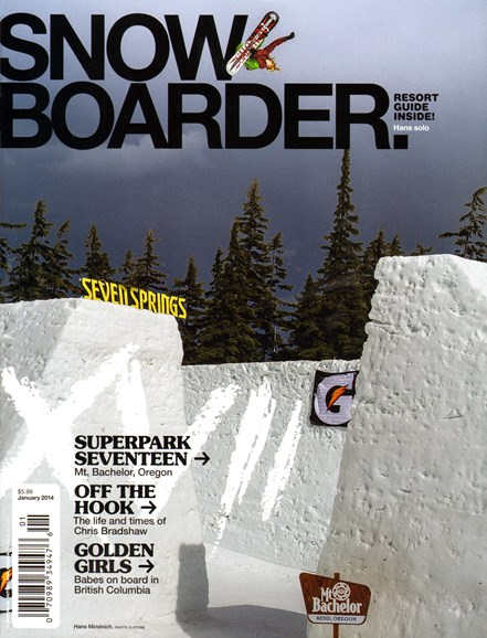 Snowboarder Cover - 1/1/2014