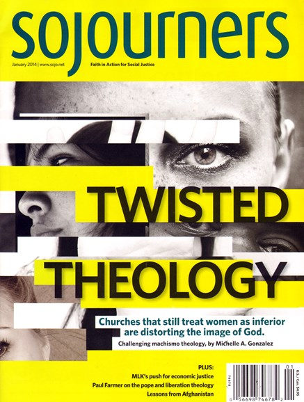Sojourners Cover - 1/1/2014