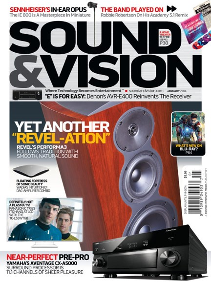 Sound & Vision Cover - 1/1/2014