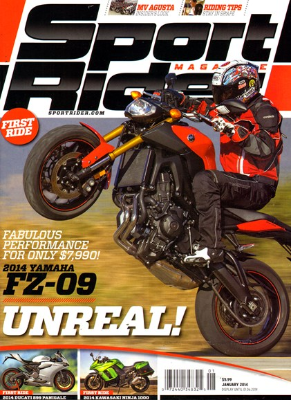 Sport Rider Cover - 1/1/2014