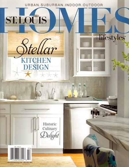 St. Louis Homes & Lifestyles Cover - 1/1/2014