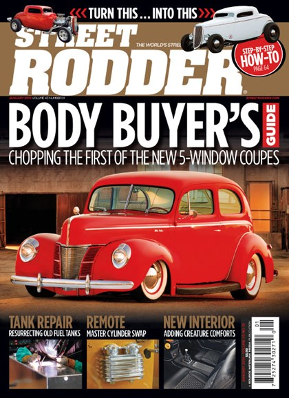 Street Rodder Cover - 1/1/2014
