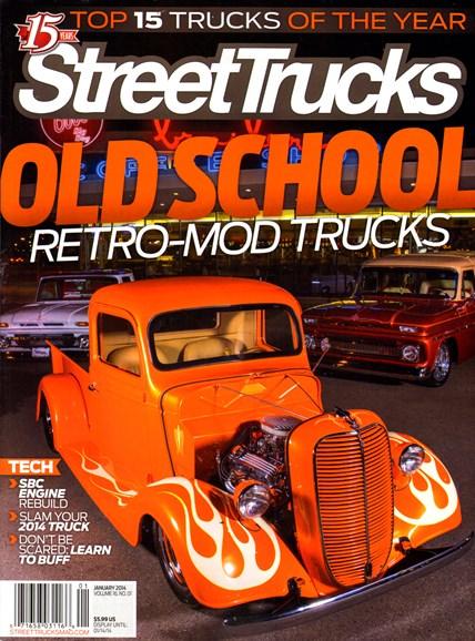 Street Trucks Cover - 1/1/2014