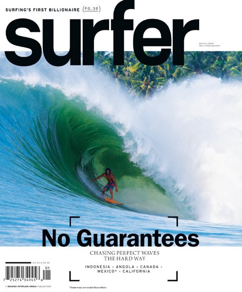 Surfer Cover - 1/1/2014