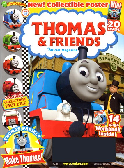 Thomas & Friends Cover - 1/1/2014