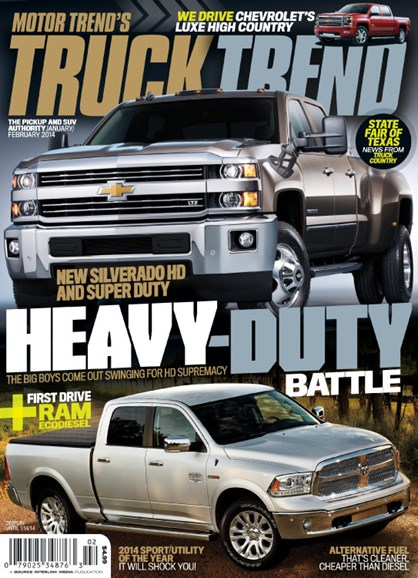 Truck Trend Cover - 1/1/2014