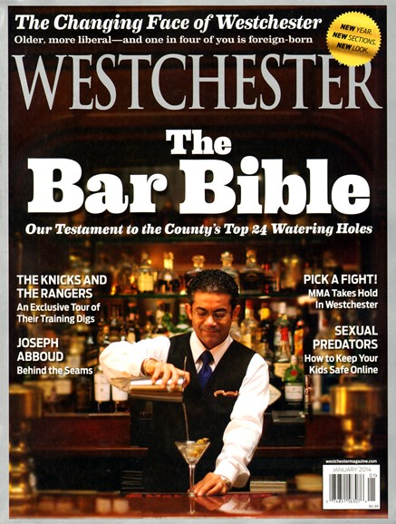 Westchester Magazine Cover - 1/1/2014