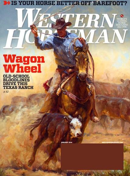 Western Horseman Cover - 1/1/2014