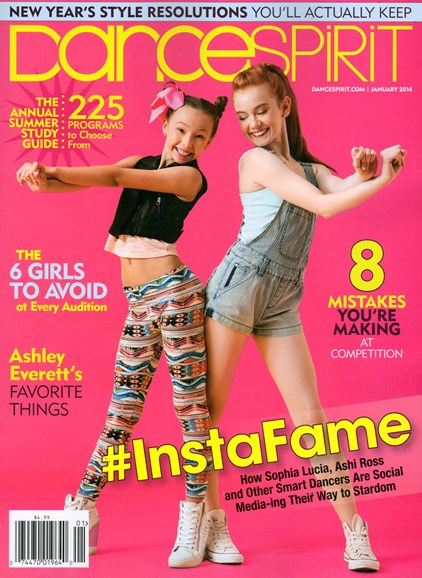 Dance Spirit Cover - 1/1/2014