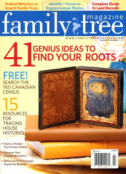 Family Tree Cover - 1/1/2014