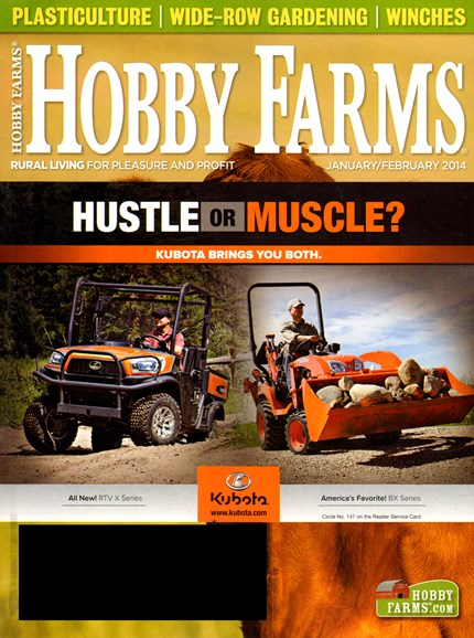 Hobby Farms Cover - 1/1/2014