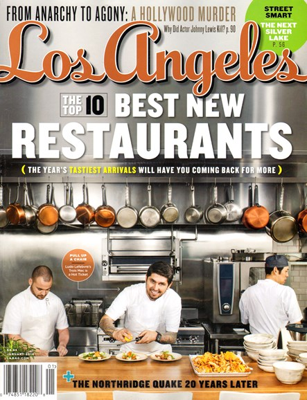 Los Angeles Cover - 1/1/2014