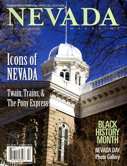 Nevada Magazine Cover - 1/1/2014