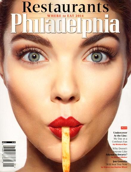 Philadelphia Magazine Cover - 1/1/2014