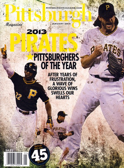 Pittsburgh Magazine Cover - 1/1/2014