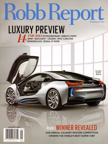 Robb Report Cover - 1/1/2014