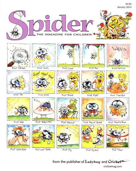 Spider Cover - 1/1/2014