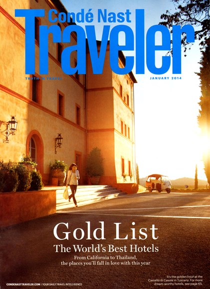 Condé Nast Traveler Cover - 1/1/2014