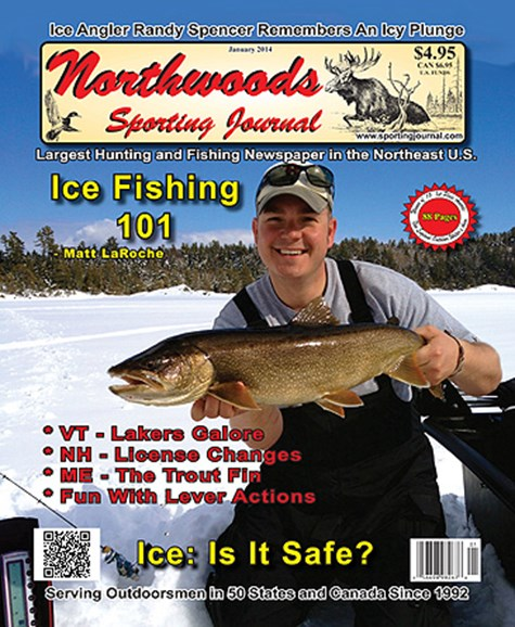 Northwoods Sporting Journal Cover - 1/1/2014