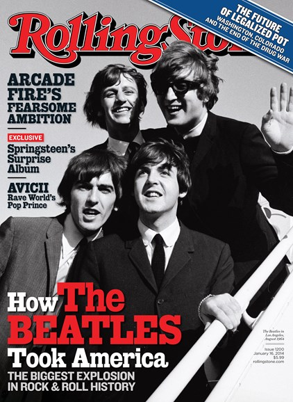 Rolling Stone Cover - 1/16/2014