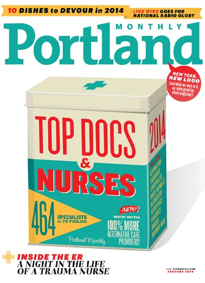 Portland Monthly Cover - 1/1/2014