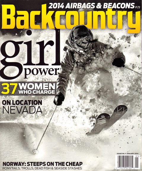 Backcountry Cover - 1/1/2014