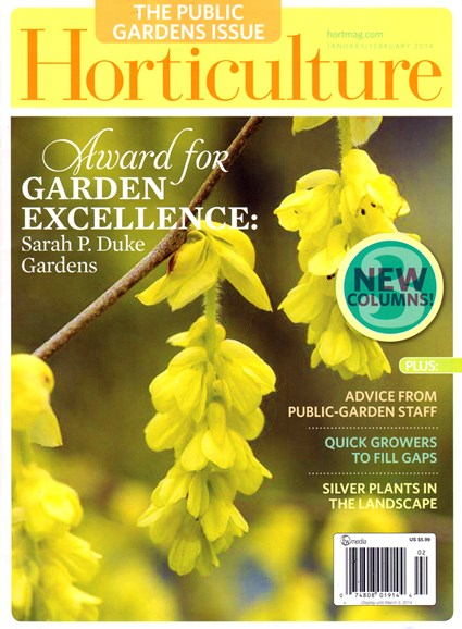 Horticulture Cover - 1/1/2014