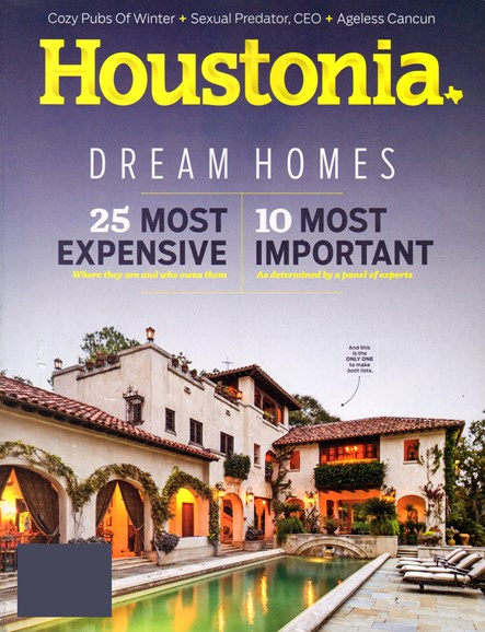 Houstonia Cover - 1/1/2014