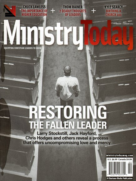 Ministry Today Cover - 1/1/2014