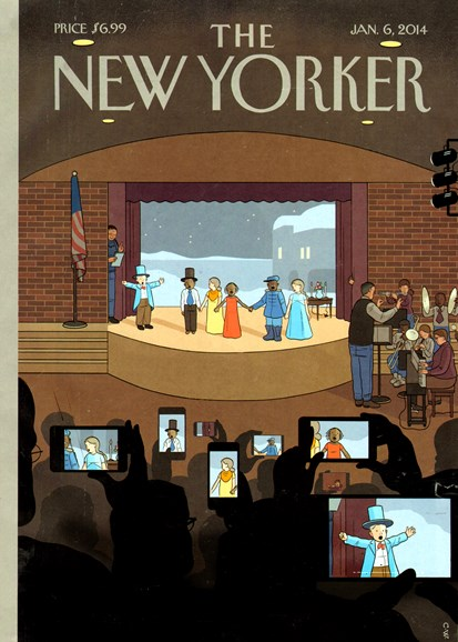 The New Yorker Cover - 1/6/2014