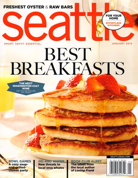 Seattle Magazine Cover - 1/1/2014