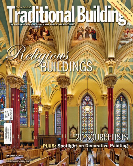Traditional Building Cover - 1/1/2014