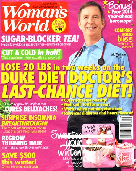 Woman's World Cover - 1/13/2014