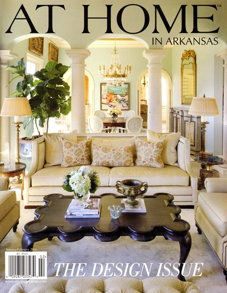 At Home In Arkansas Cover - 1/1/2014