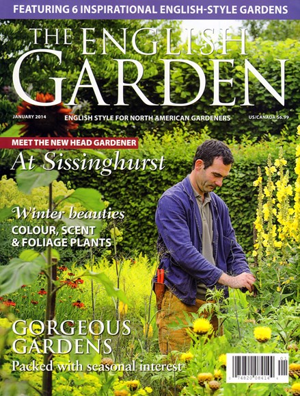 The English Garden Cover - 1/1/2014