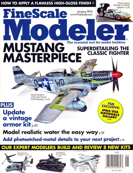 Finescale Modeler Cover - 1/1/2014