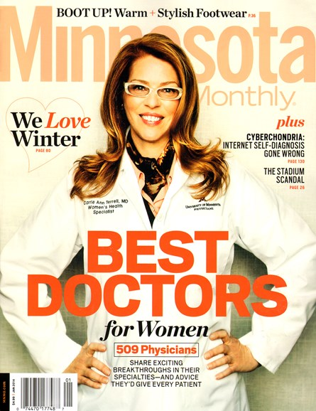 Minnesota Monthly Cover - 1/1/2014