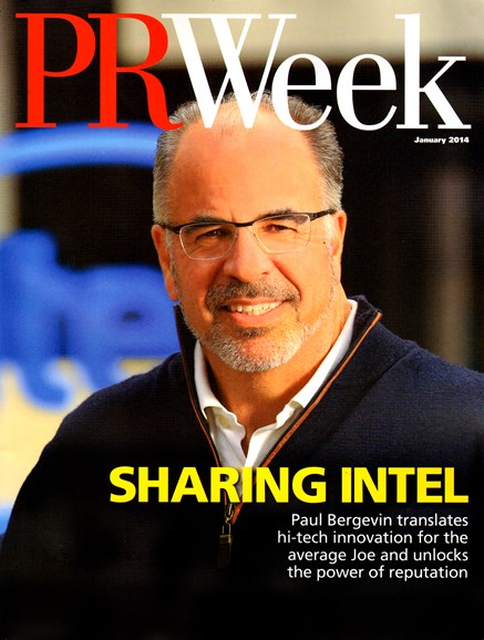 PRWeek Cover - 1/1/2014