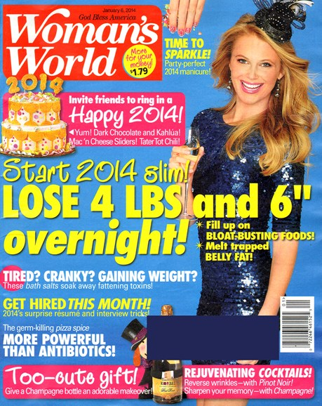 Woman's World Cover - 1/6/2014