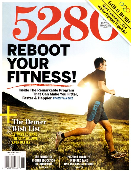 5280 Magazine Cover - 1/1/2014