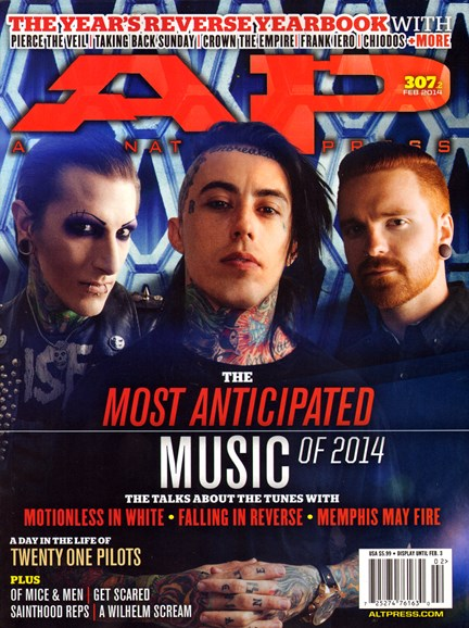 Alternative Press Cover - 2/1/2014