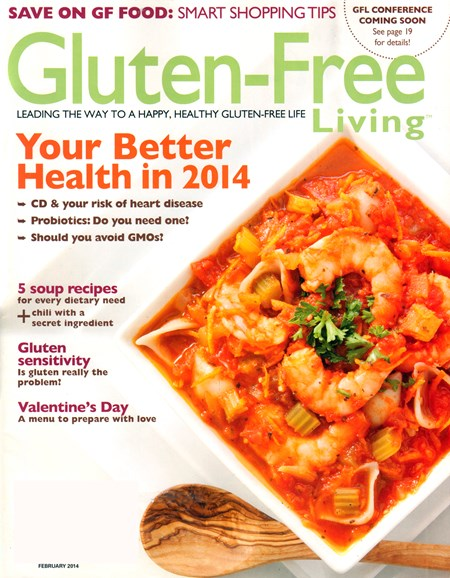Gluten-Free Living Cover - 2/1/2014