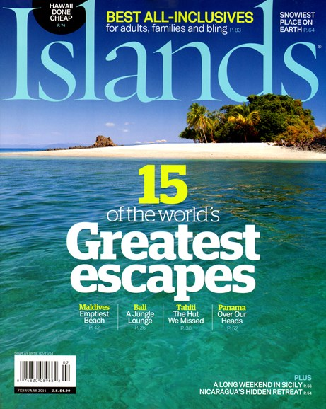 Islands Cover - 2/1/2014