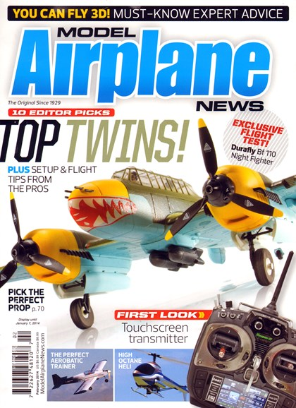 Model Airplane News Cover - 2/1/2014