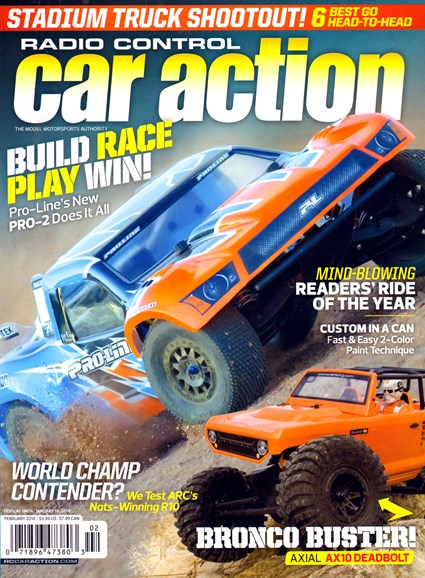 Radio Control Car Action Cover - 2/1/2014