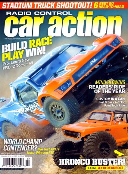 Radio Control Car Action Cover - 2/1/2014