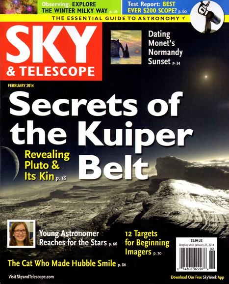 Sky & Telescope Cover - 2/1/2014