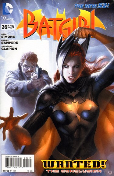 Batgirl Cover - 2/1/2014
