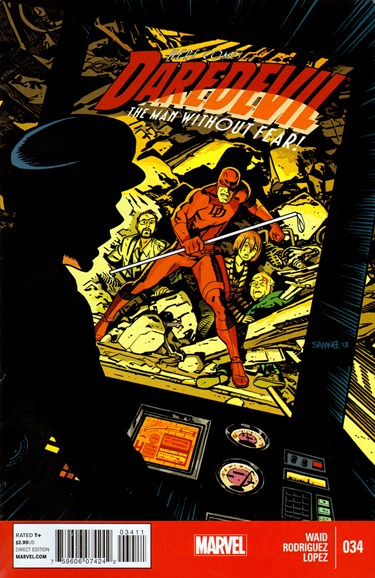 Daredevil Cover - 2/1/2014