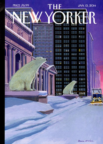 The New Yorker Cover - 1/13/2014